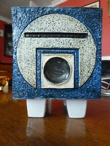 Troika Footed Cube Planter 1970's