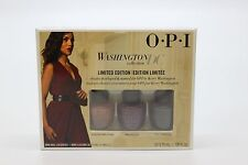 DCW09 - OPI Washington DC 3pc Mini Limited Edition Nail Lacquer - NEW