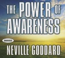 The Power of Awareness by Neville Goddard (2014, CD, Unabridged)
