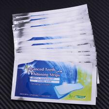 14 Strips Zahnweiß Zahnaufhellung Streifen Whitestrips Weiss Zähne Bleaching DE
