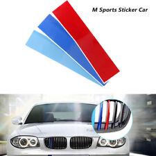 3X PVC for BMW X5 E53 E46 E39 E60 E90 front Grill Stripe decal M sport sticker