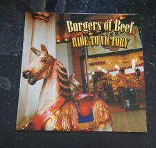 CD - Burgers of Beef, Ride to Victory - 2005 Pleasant Pheasant Records