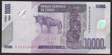 Congo 10000 francs 2013 !!! UNC P103
