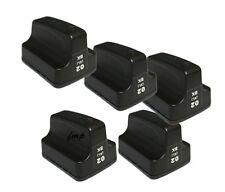 HP02 Photosmart 5 pk BLACK Ink Cartridges C8180 D7160 D7260 3210 3210xi C6180
