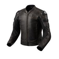 Blousons marron longueur taille pour motocyclette Homme