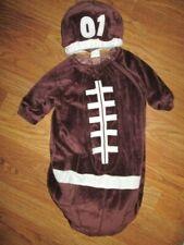 Boys infant baby FOOTBALL plush Halloween Costume sz 0 - 6 months