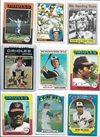 Orioles 1970 World Series Champs Lot of (18) Different Palmer Robinson Belanger