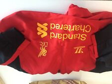 TRAINING TOP FC LIVERPOOL WARRIOR PRESENTATION JACKET  SIZE (XL)