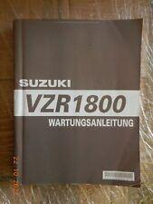 Wartungsanleitung Suzuki VZR1800 Intruder (Reparaturanleitung) ab 2006