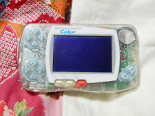 """Wonderswan Color Console"" Bandai Toys R Us Clear WS Japan sn0200124049 RARE"