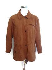 Timberland Coat Jacket M Weathergear Brown Lambskin Leather Waterproof NWT