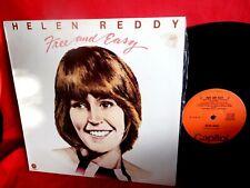 HELEN REDDY Free and Easy LP AUSTRALIA 1974 MINT-