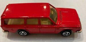 Majorette Volvo 245 DL rouge, n° 220, 1/60