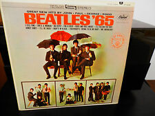Beatles-65..On Apple Records w/MFD by Apple on Label..Excellent Copy