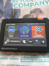 """RAND McNALLY tnd 720 commercial truck gps """"works great""""sotware and maps updated"""