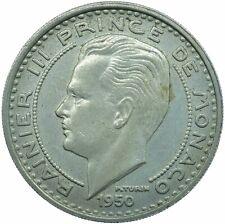 More details for 1950 monaco 100 francs vf beautiful  #wt24790