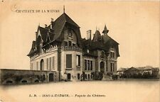 CPA Issy-L'Eveque, Facade du Chateau (421074)