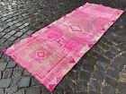 Handmade rug, Runner rug, Turkish rug, Vintage rug, Wool, Carpet | 2,7 x 6,9 ft