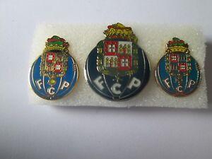 J2 Lot 3 Pins Lot Futebol Clube Do Porto FC Club Brosche Football Fußball Pins