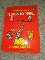 Beginner Book of Things to Make by Robert Lopshire 1964 Dr. Seuss hardcover