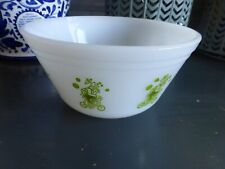vintage federal glass circus mixing bowl