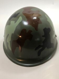 Child Kids Camouflage Army Helmet Hat Woodland Camo Costume Toy Soldier Military