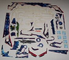 NOS! Stern Avengers Pro Pinball Machine Plastic Set 803-5000-D3 Free Ship! New!