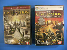 Sid Meier's Civilization IV Game of the Year Edition & Beyond the Sword PC Games