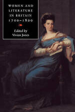 Women and Literature in Britain, 17001800-ExLibrary