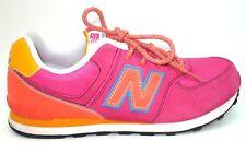 New Balance 574 Pink Orange Running Walking Casual Sneaker Shoes Mens Sz 7M