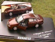 RENAULT MEGANE CLASSIC 1.6 16V RXT 1999 1/43 MARRON
