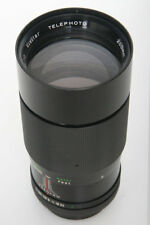 Vivitar 200mm f3.5 Telephoto lens Canon FD Mount * Komine  manual focus