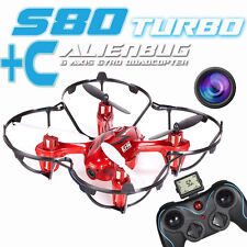 EI-HI S80C Drone 2.4GHz 4 Channel 8 Axis Gyro RC Quadcopter UFO with HD Camera
