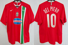 2005-2006 Juventus Juve Jersey Shirt Maglia Away TAMOIL Nike Del Piero #10 L