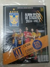 TIGRES UANL OFFICIAL ALBUM 2016-2017 SPECIAL EDITION WITH 10 STICKERS