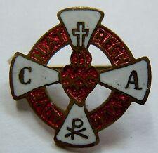 Insigne boutonnière Religieux Toulouse Apostolat de la Prière France ORIGINAL