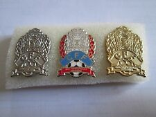 b1 lotto 3 spille CAMBODIA football federation association team pins lot