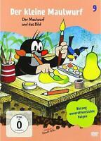 DER KLEINE MAULWURF DVD 9 - DER MAULWURF UND DAS BILD;U-BAHN;FISCH...  DVD NEU