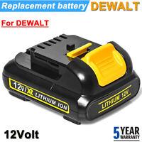 For DEWALT DCB120 12V 12 VOLT MAX Lithium Ion Battery Pack DCB120R DCB125 DCB123