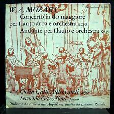 Severino Gazzelloni - Mozart Concerto Andante Flute LP Mint- LPA 5930 Angelicum