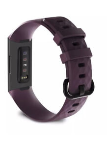 Fitbit Charge 3 Purple Wrist Straps Wristband Best Replacement Watch Bands New