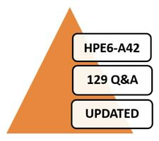 Implementing Aruba WLAN (IAW) 8 HPE6-A42 Exam PDF 129 Q&A PDF ONLY!