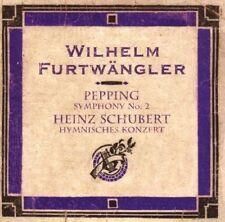 Pepping: Symphony No. 2; Heinz Schubert: Hymnisches Konzert (2007)