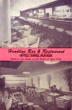 HEADLINE BAR & RESTAURANT - HOTEL TIMES SQUARE, Heart of NEW YORK CITY