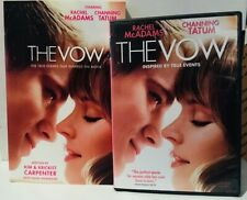 The Vow 2012 film (DVD and Movie Tie-In Paperback) Channing Tatum Drama/Romance