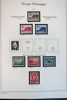Norway Pristine Mint NH 1960 to 1990 + Early Stamp Collection
