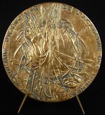 Medaille Louis Leprince-Ringuet  physicien ingénieur écrivain académie medal
