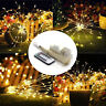 Firework LED Copper Wire Strip String Xmas Party Wedding Decor LED Fairy Lights