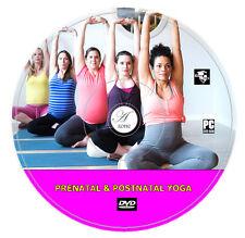 PRENATAL & POSTNATAL YOGA DVD, PREGNANCY EXERCISE,FITNESS RELAXATION MEDITATION