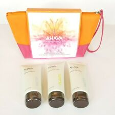 AHAVA DeadSea Mineral Hand Cream Shower Gel Body Sorbet 3.4 oz SEALED